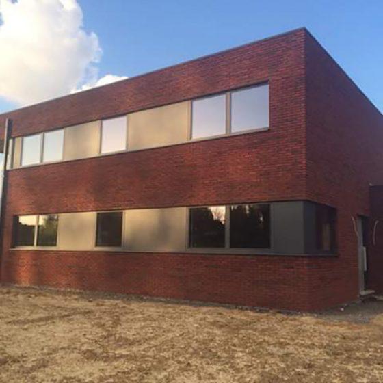 travaux d'un bâtiment